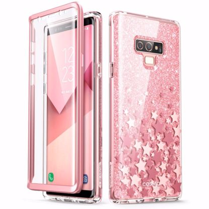 Picture of i-Blason i-Blason Cosmo Case with Screen Protector for Samsung Galaxy Note 9 in Pink