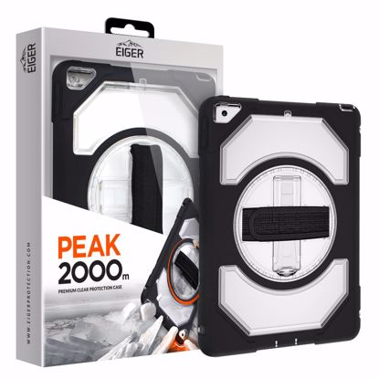 Picture of Eiger Eiger Peak 2000m Case for Apple iPad 10.2 (2019) in Black/Clear