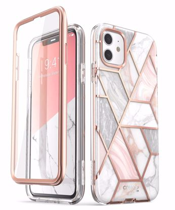 Picture of i-Blason i-Blason Cosmo Case with Screen Protector for Apple iPhone 11 in Marble