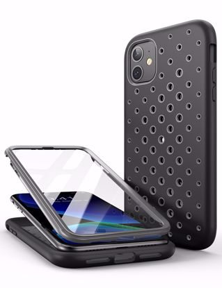 Picture of i-Blason i-Blason SUPCASE Unicorn Beetle Sport Case with Screen Protector for Apple Phone 11 in Grey/Black