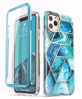 Picture of i-Blason i-Blason Cosmo Case with Screen Protector for Apple iPhone 11 Pro in Ocean