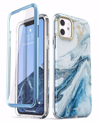 Picture of i-Blason i-Blason Cosmo Case with Screen Protector for Apple iPhone 11 in Blue