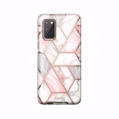 Picture of i-Blason i-Blason Cosmo Case with Screen Protector for Samsung Galaxy S20 in Marble