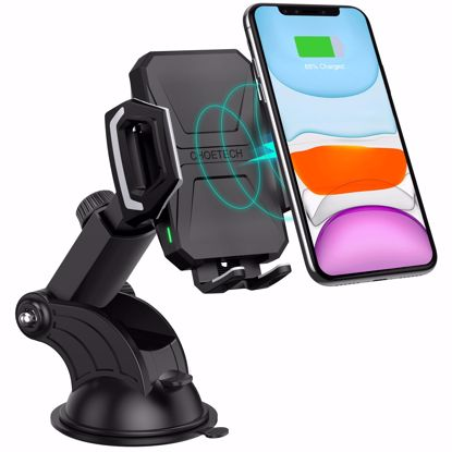 Picture of Choetech Choetech Wireless Charger Stand in Black