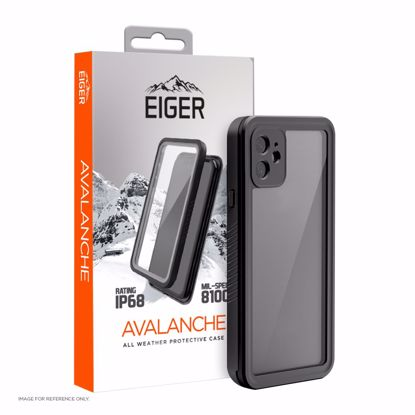 Picture of Eiger Eiger Avalanche Case for Apple iPhone 12 in Black