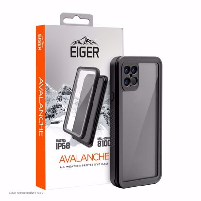 Picture of Eiger Eiger Avalanche Case for Apple iPhone 12 Pro Max in Black