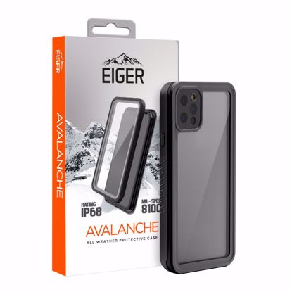 Picture of Eiger Eiger Avalanche Case for Apple iPhone 12 Pro in Black