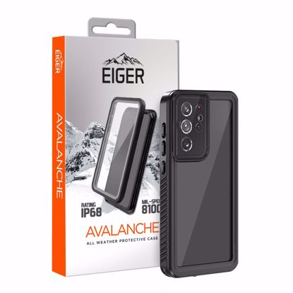 Picture of Eiger Eiger Avalanche Case for Samsung Galaxy S21 Ultra in Black