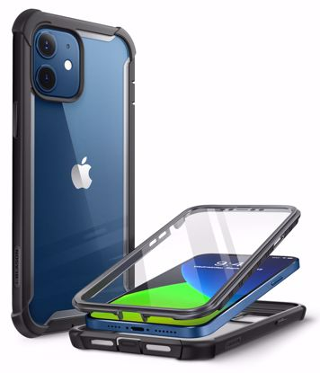 Picture of i-Blason i-Blason Ares Full Body Case with Screen Protector for iPhone 12/12 Pro in Black