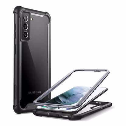 Picture of i-Blason i-Blason Ares Full Body Case with Screen Protector for Samsung Galaxy S21+ in Black